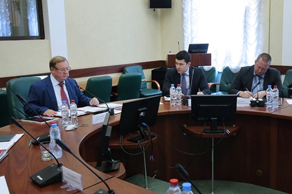 Сергей Степашин провел заседание Общественного совета при Минстрое России.