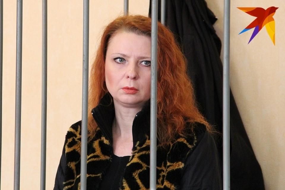 Так Светлана Инякина выглядела на суде. Сообщается, что после освобождения из колонии она поменяла имидж.
