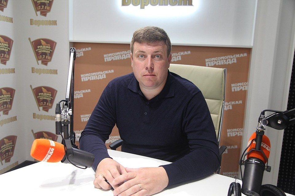 """Президент """"Федерации автомобильного спорта Воронежской области"""" Алексей Филимонов."""