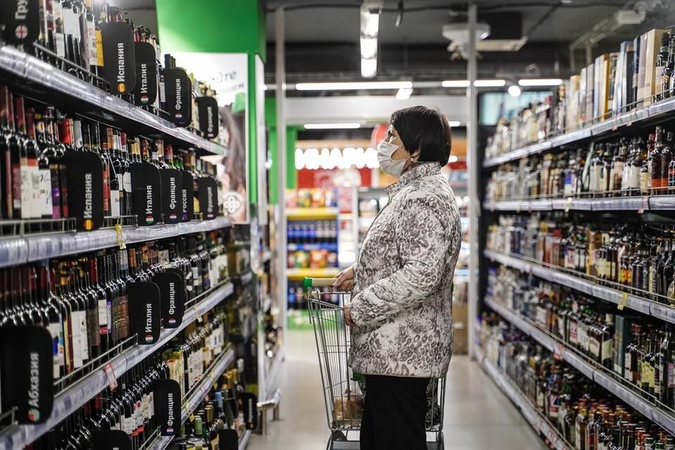 В Москве упали продажи алкоголя