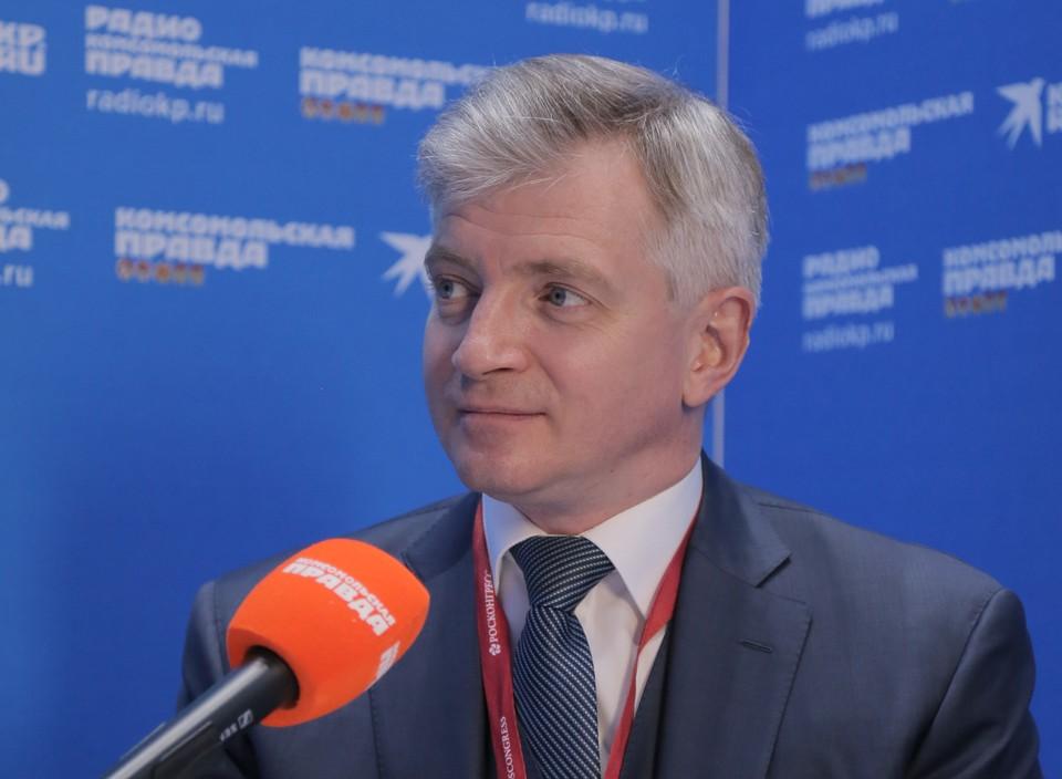 Александр Владимирович Кибовский, глава департамента культуры Москвы