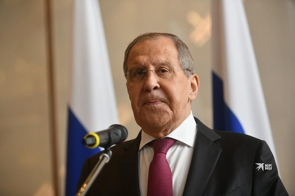 Сергей Лавров 2 сентября прибыл в Екатеринбург