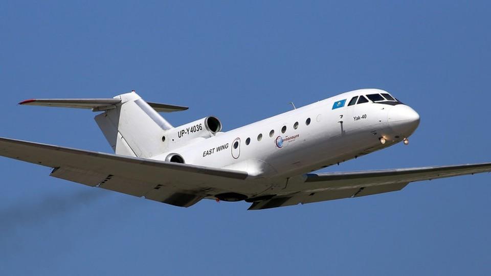 Самолет совершил посадку в аэропорту Алматы без происшествий. Фото: east-wing.kz
