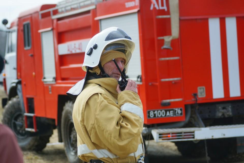 Пожарным быстро удалось локализовать пламя.