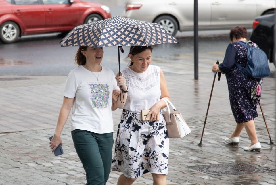 Пасмурная и дождливая погода снова придет после аномальной жары.