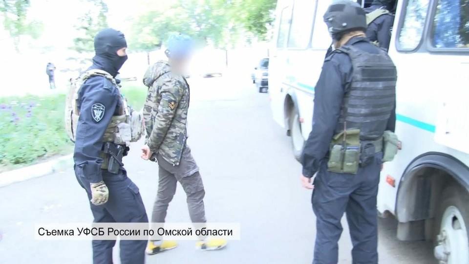 На трех членов организации завели уголовные дела. Фото: Пресс-служба УФСБ по Омской области