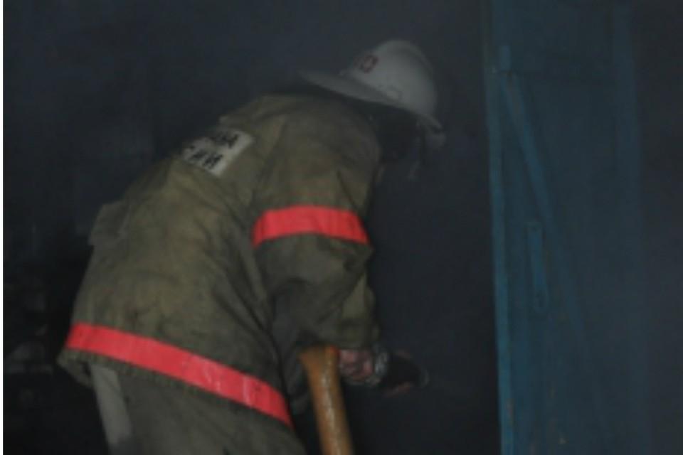 В Ростове потушили склад с сеном. Фото: ГУ МЧС по РО