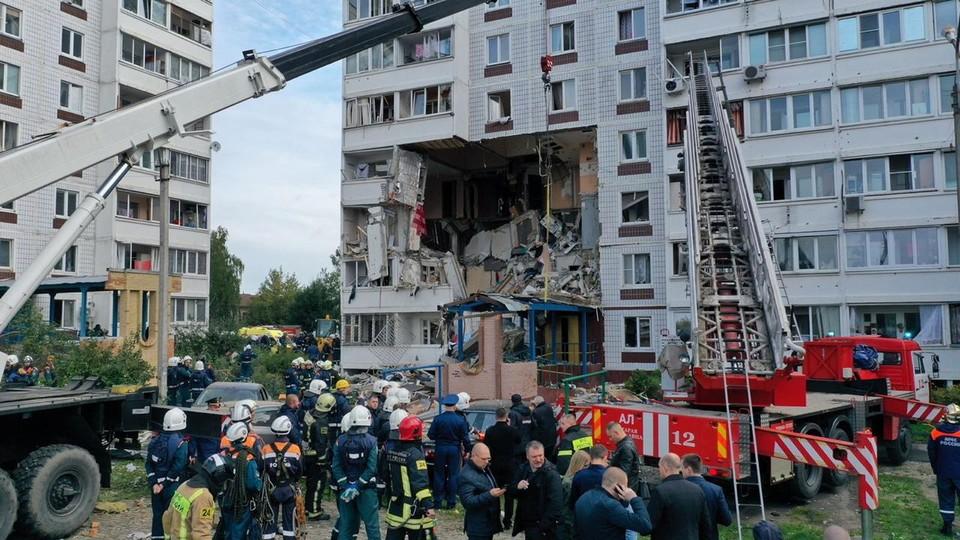 8 сентября в Ногинске в девятиэтажке произошел взрыв бытового газа.