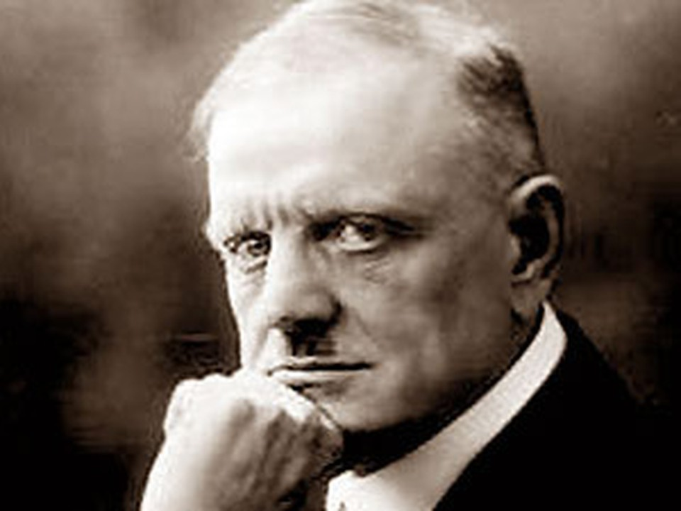 Выдающийся финский композитор Ян Сибелиус