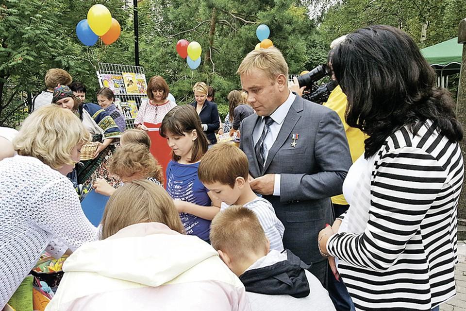 Максим Сураев знает, как развить потенциал Московской области. Фото: mosreg.ru