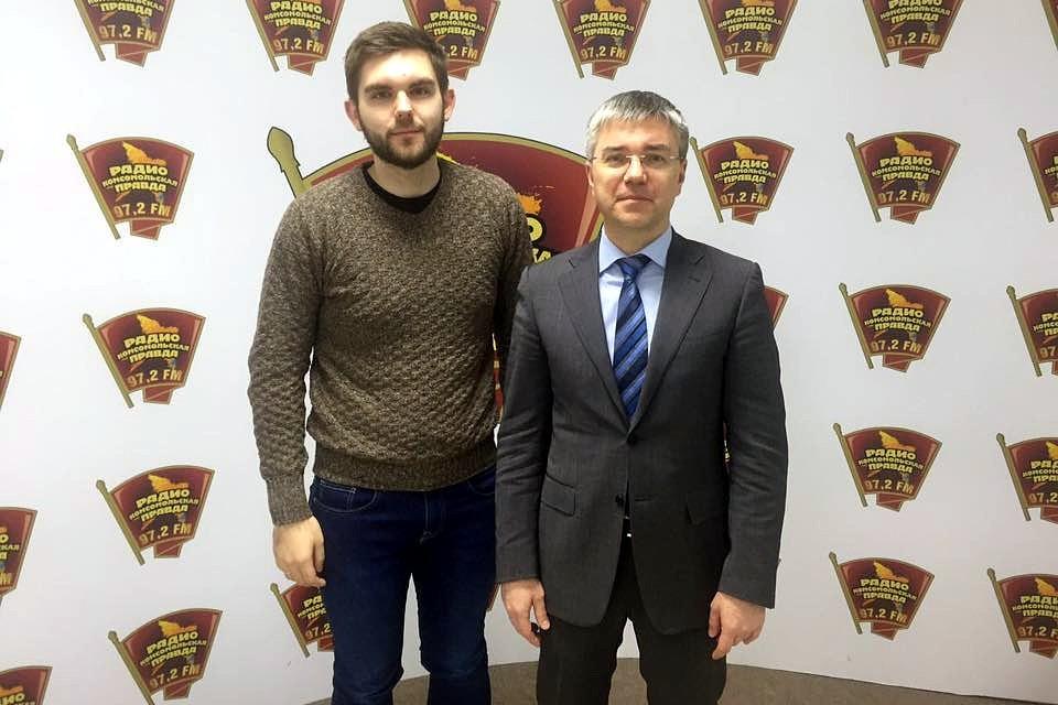 Роман Голованов (слева) и Евгений Ревенко. Фото: Роман Голованов.